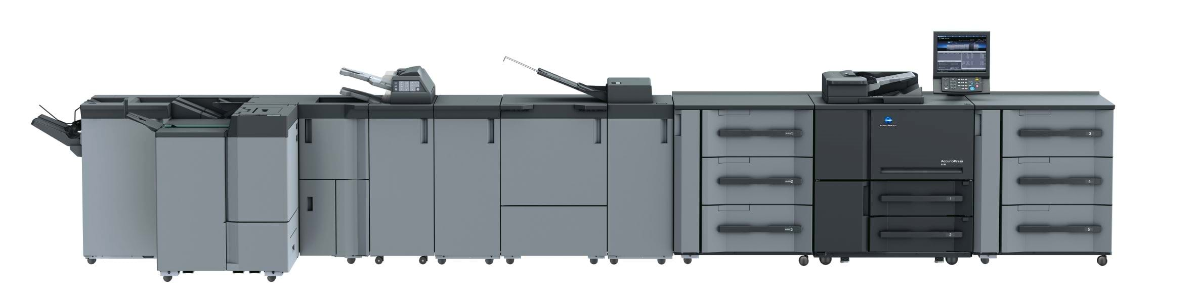 Konica Minolta accurio press 6136p professional printer