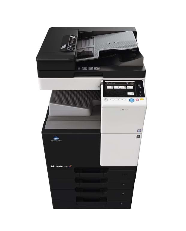 Konica Minolta bizhub c287 office printer